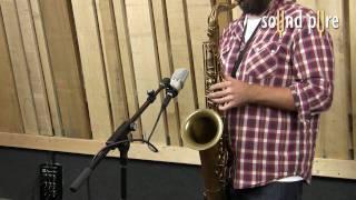 Neumann TLM102 Microphones - Saxophone Recording
