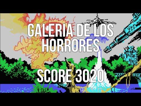 Galería de los Horrores: Score 3020 (1988) - Amstrad CPC