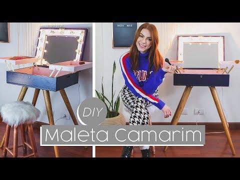 DIY :: Penteadeira Maleta / Camarim