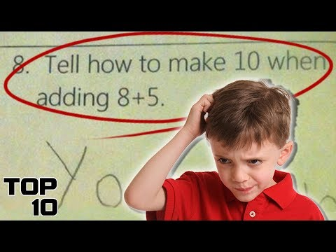 Top 10 Most Pointless Things We Learned In Math Class