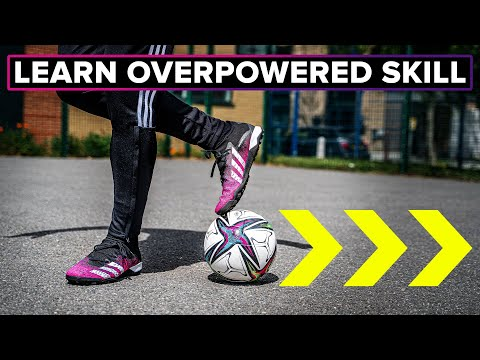 The most OVERPOWERED skill move | Use it on the pitch or the streets