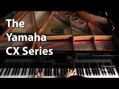 The Yamaha CX Series Grand Pianos