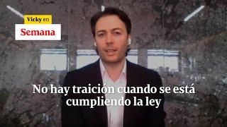 Daniel Quintero dice que ingreso del Esmad a UdeA no es traición a sus electores | Vicky en Semana