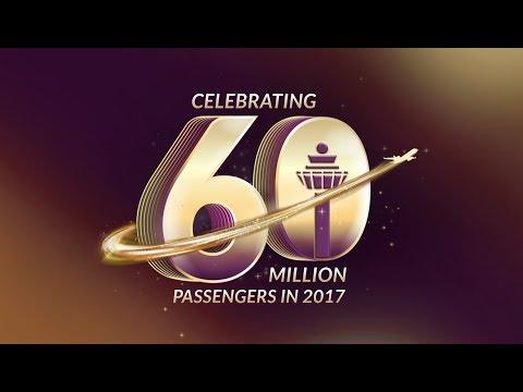 Celebrating 60 Million Passengers in 2017