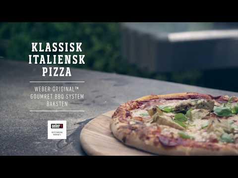 Klassisk italiensk pizza, Webers grilloppskrifter