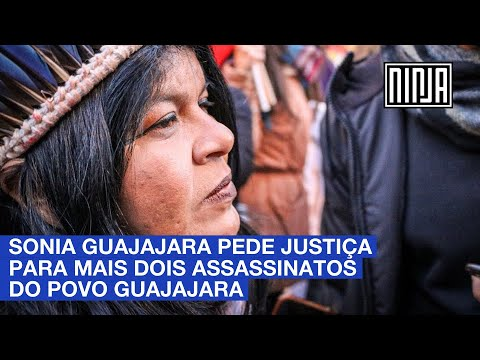 Sonia Guajajara pede justiça para mais 2 assassinatos do povo Guajajara