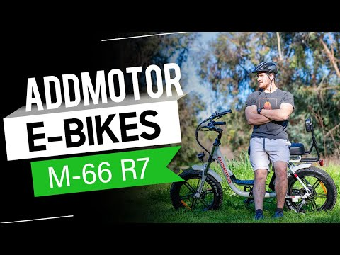 Addmotor MOTAN M-66 R7 Step-Thru Electric Fat Bike Mini Moped Motorbike