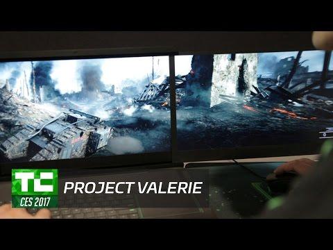 Razer CEO demos Project Valerie