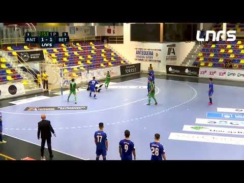 BeSoccer UMA Antequera 5-3 Real Betis Futsal B Jornada 2 Segunda División Temp 21/22