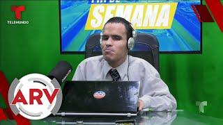 Joven ciego vence barreras y se convierte en presentador de televisión   Al Rojo Vivo   Telemundo