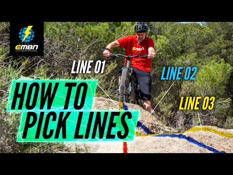 How To Pick Better Lines On Your E Bike | EMTB Skills