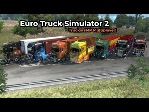 Euro Truck Simulator 2 - TruckersMP (Opname 07/02/2019)