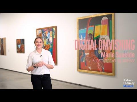 Digital omvisning i Astrup Fearnley Samlingen   Kitaj, Self og Koons