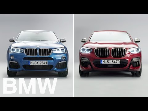 BMW vs BMW : BMW X4 vs X4. 1st vs 2nd generation.