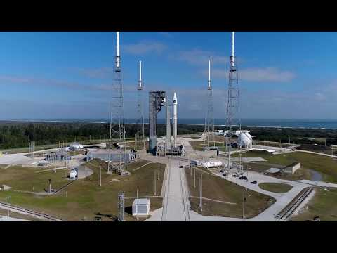 connectYoutube - Aerial Views of Atlas V SBIRS GEO Flight 4 on the Launch Pad