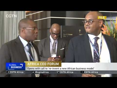 Delphine Maidou on Allianz' history and business in Africa at The Africa CEO Forum 2017