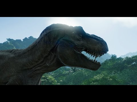 JURASSIC WORLD EVOLUTION Release Date Trailer (Xbox One/PS4/PC)