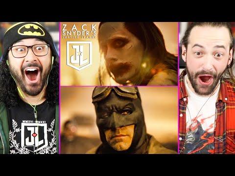 Snyder Cut   ZACK SNYDER S JUSTICE LEAGUE   TRAILER REACTION! (Joker   Batman   Breakdown   HBO Max)