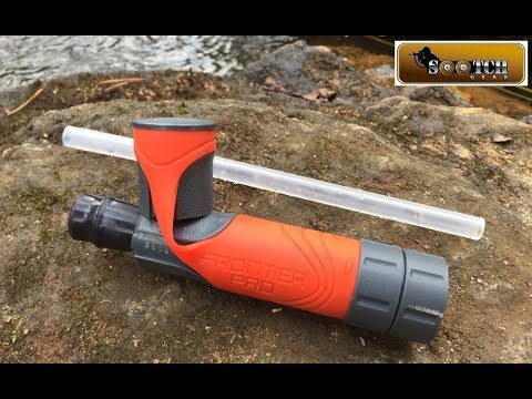 Frontier Pro Water Filter Straw Review