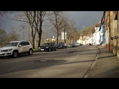 Verkehrsbehinderung an der Herrenwaagbrücke in Mühlacker
