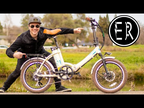 BEST E-FOLDER UNDER $1,099 in 2020!!! Green Bike Electric Motion Classic LS electric bike review