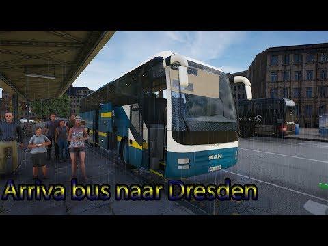 Fernbus!! #31: Naar Dresden met een Arriva bus