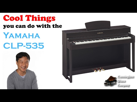 Cool Things You Can Do With The Yamaha CLP-535