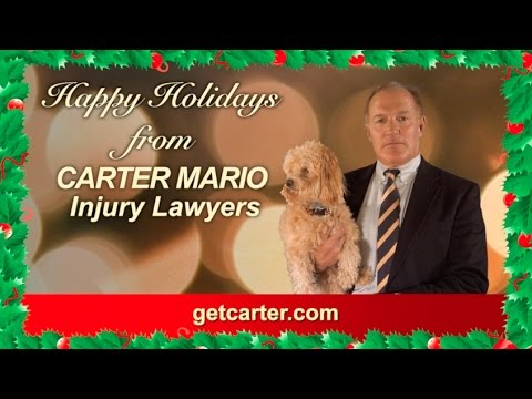 Happy Holidays From Carter Mario Injury Lawyers