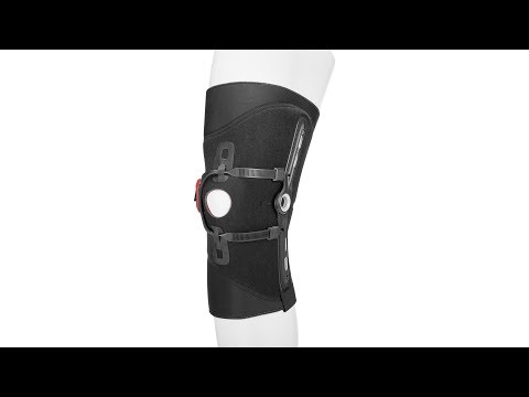 Patella Pro - Donning and doffing of the knee orthosis