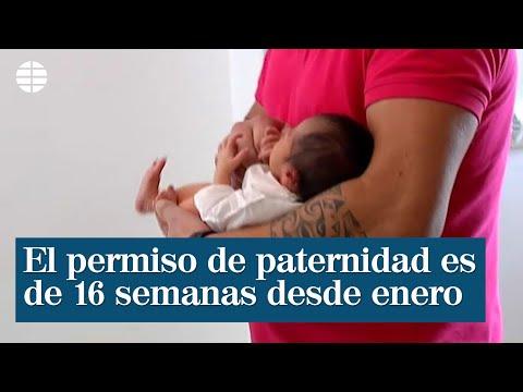 El permiso de paternidad durará 16 semanas a partir de enero