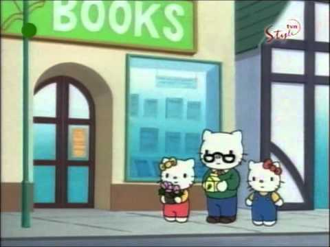 Hello Kitty - odcinek 02 B bajki -  Spacer z tatą PL
