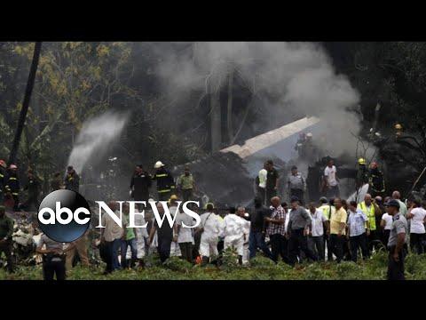 More than 100 people killed in Cuban plane crash