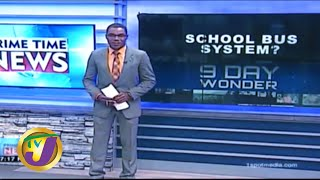 TVJ News: 9 Day Wonder - Public School Buses - February 27, 2020