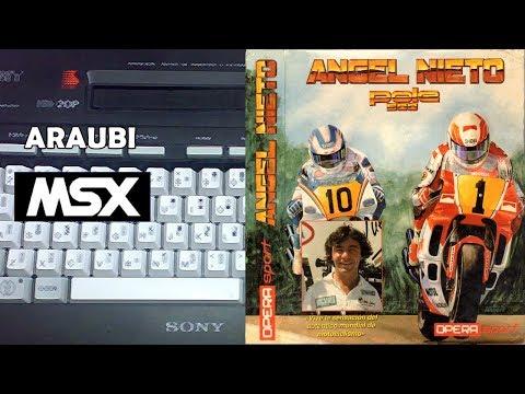 Angel Nieto Pole 500 (Opera Soft, 1990) MSX [135] El Kiosko