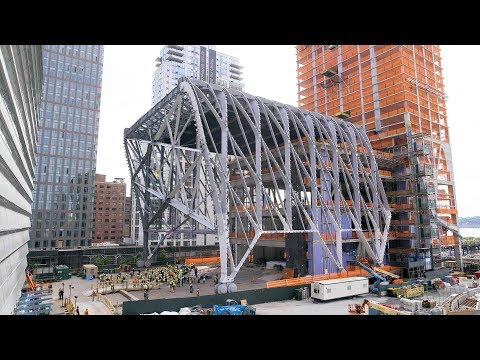 Watch time-lapse footage of the Shed's moving roof | Architecture | Dezeen