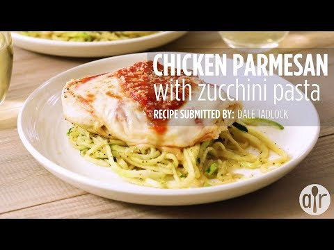 How to Make Chicken Parmesan With Zucchini Pasta   Dinner Recipes   Allrecipes.com