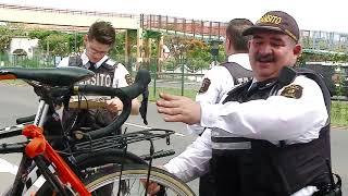 Policía de tránsito vigilará que los ciclistas no utilicen las autopistas durante días de cierre