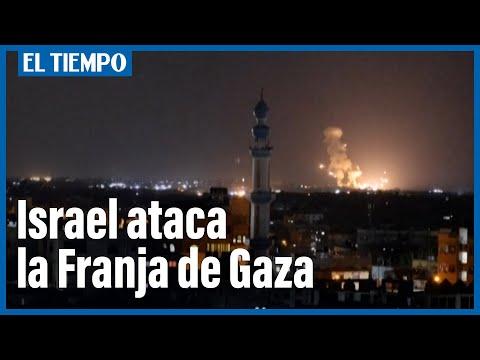 Israel ataca el sur de Gaza tras fuga de presos palestinos