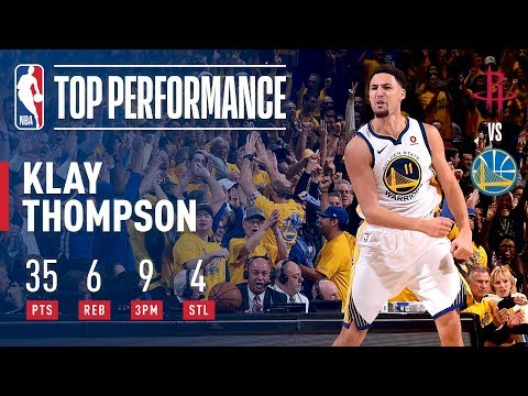 Klay Thompson's 35 Points Helps The Warriors Force A G7!