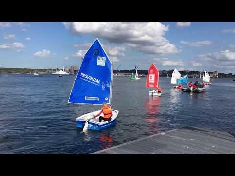 Segelprojekt Camp 24/7 in Kiel - Impressionen 2018