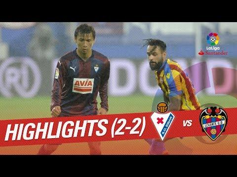 Resumen de SD Eibar vs Levante UD (2-2)