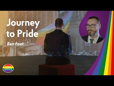 Journey to Pride: Ben Foat from Post Office shares his story