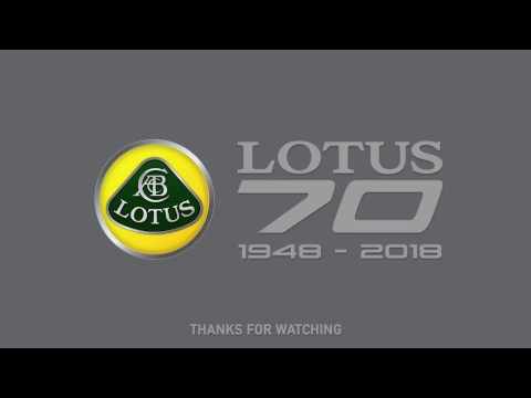 Lotus 70th Anniversary Event Live Stream #Lotus70