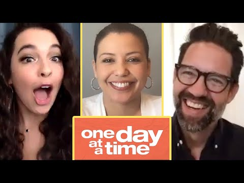 """The Cast Of """"One Day At A Time"""" Finds Out Which Characters They Really Are"""