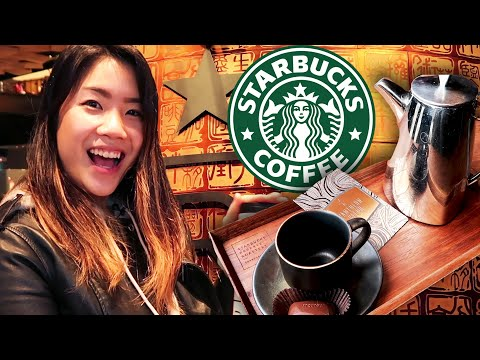 I Went To The Fanciest Starbucks In The World
