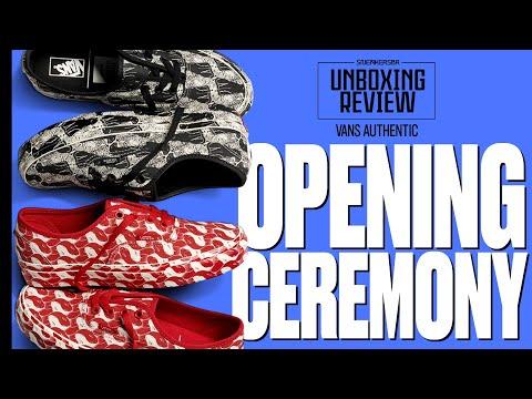 Recebemos mais uma CAIXONA da VANS! - UNBOXING+REVIEW: Vans x Opening Ceremony