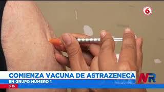 Comienza vacunación con AstraZeneca a partir de este lunes
