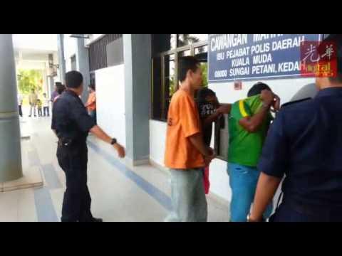 涉向警方总部掷汽油弹 4嫌犯遭延扣助查