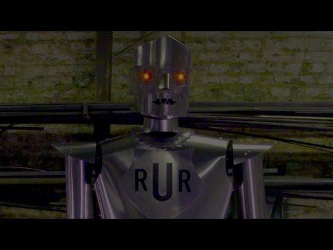 How do you build a robot
