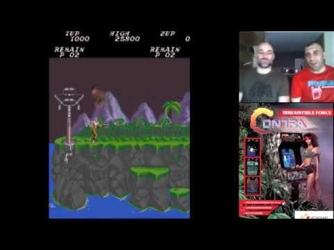 Contra // Arcade // Jugando A Dobles Cap. 21 // RETRO